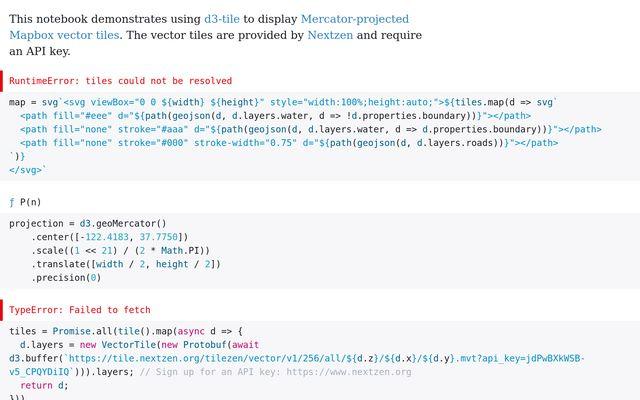 D3 Mapbox Vector Tiles / Jasper Roest / Observable