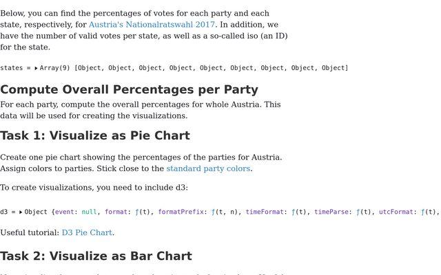 InfoVis - Exercise 1: Basic d3 Charts / Manuela Waldner