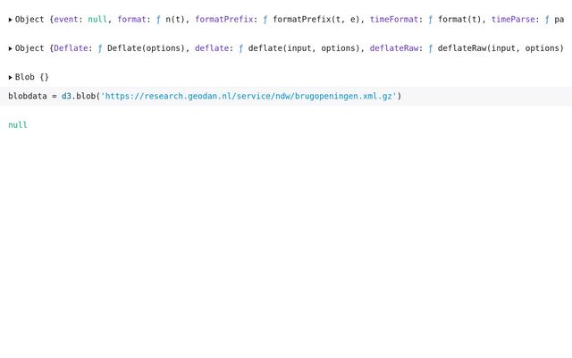 Reading sensor XML / Tom van Tilburg / Observable