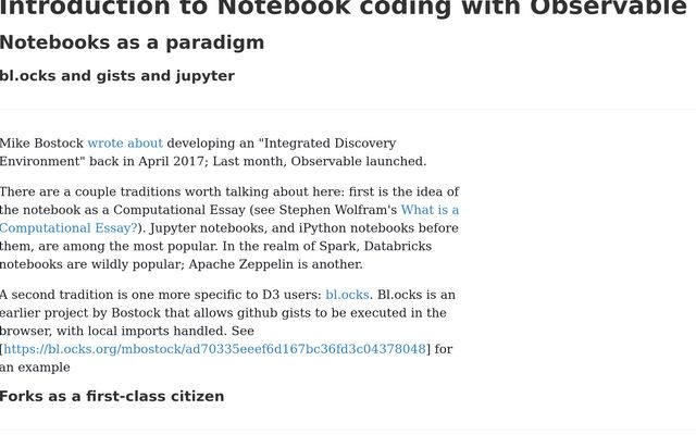 Introduction to Notebook coding with Observable / Phil Renaud