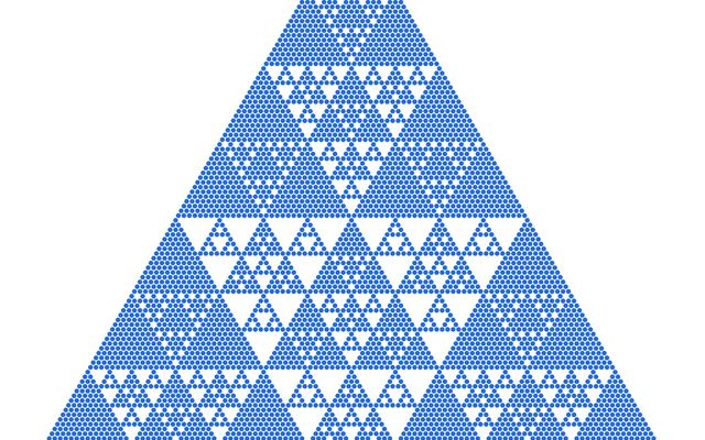 Shaded Pascal's Triangle