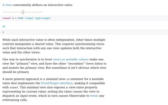 Linked Slider & Select List - The Observable Forum