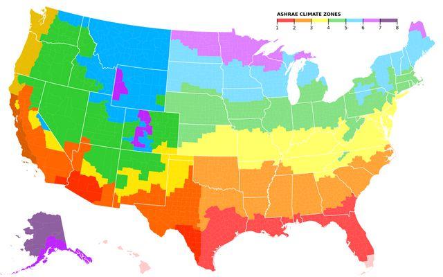 US Outdoor Comfort Map / adrianturcato / Observable on
