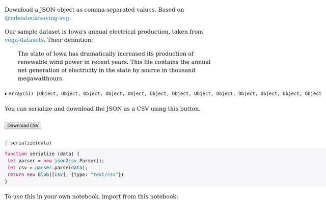 sample json dataset download