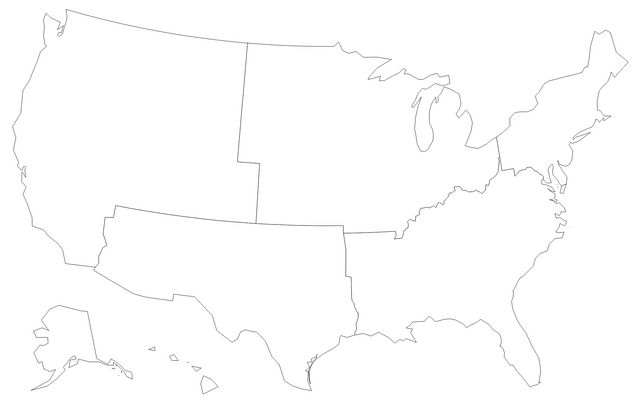 United States by Regions / anbnyc / Observable