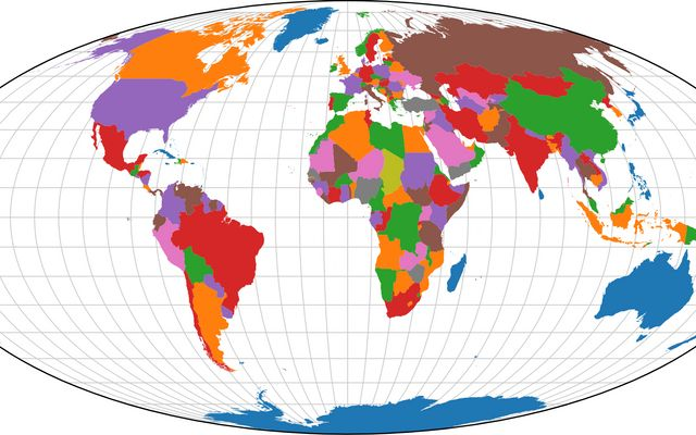 Map Coloring / Mike Bostock / Observable on