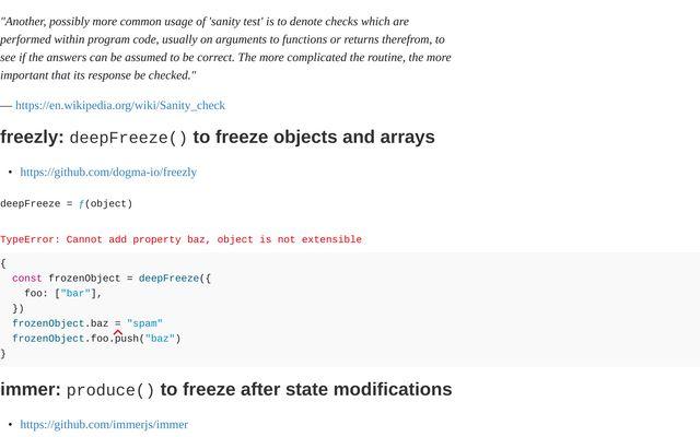 Sanity Checks in JavaScript / Benjamin Gudehus / Observable