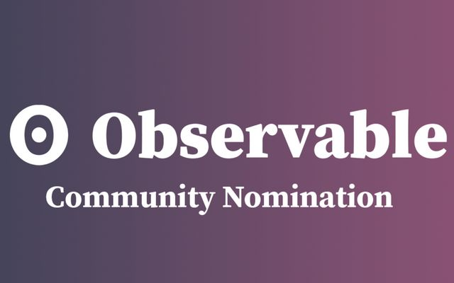 2020 Community Nominations