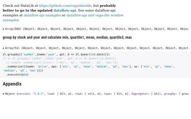 DataLib is Like dplyr for JavaScript / timelyportfolio