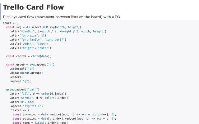 Trello Card Flow / Matt Cowan / Observable