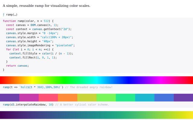 Color Ramp / Nathan Agrin / Observable