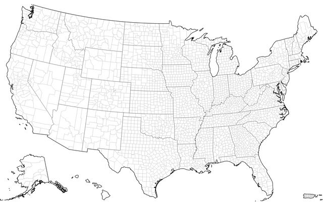 U S  Map with Puerto Rico / D3 / Observable